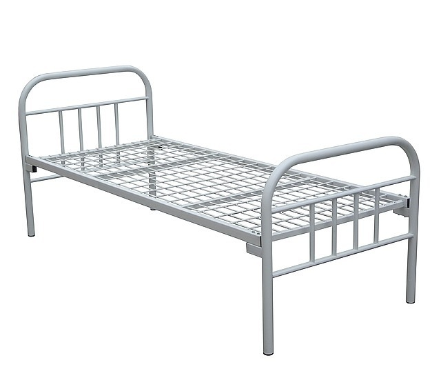 Кровать металлическая односпальная