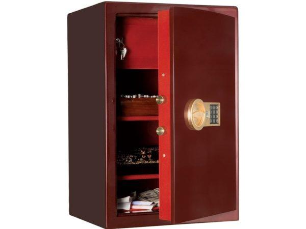 Эксклюзивный сейф КАРАТ-67Т.EL GOLD (670x440x380)