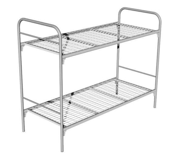 Кровать металлическая двухъярусная М3