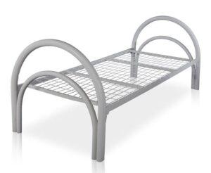 Кровать металлическая одноярусная К3