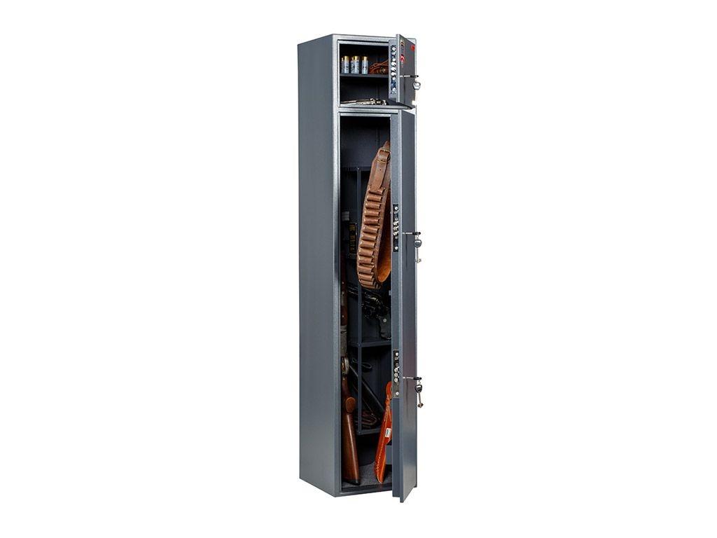 Оружейный шкаф БЕРКУТ 150/2 (1480x300x300)