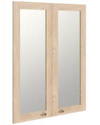 Двери рамочные стеклянные RGFD 42-2 (880x20x1130)
