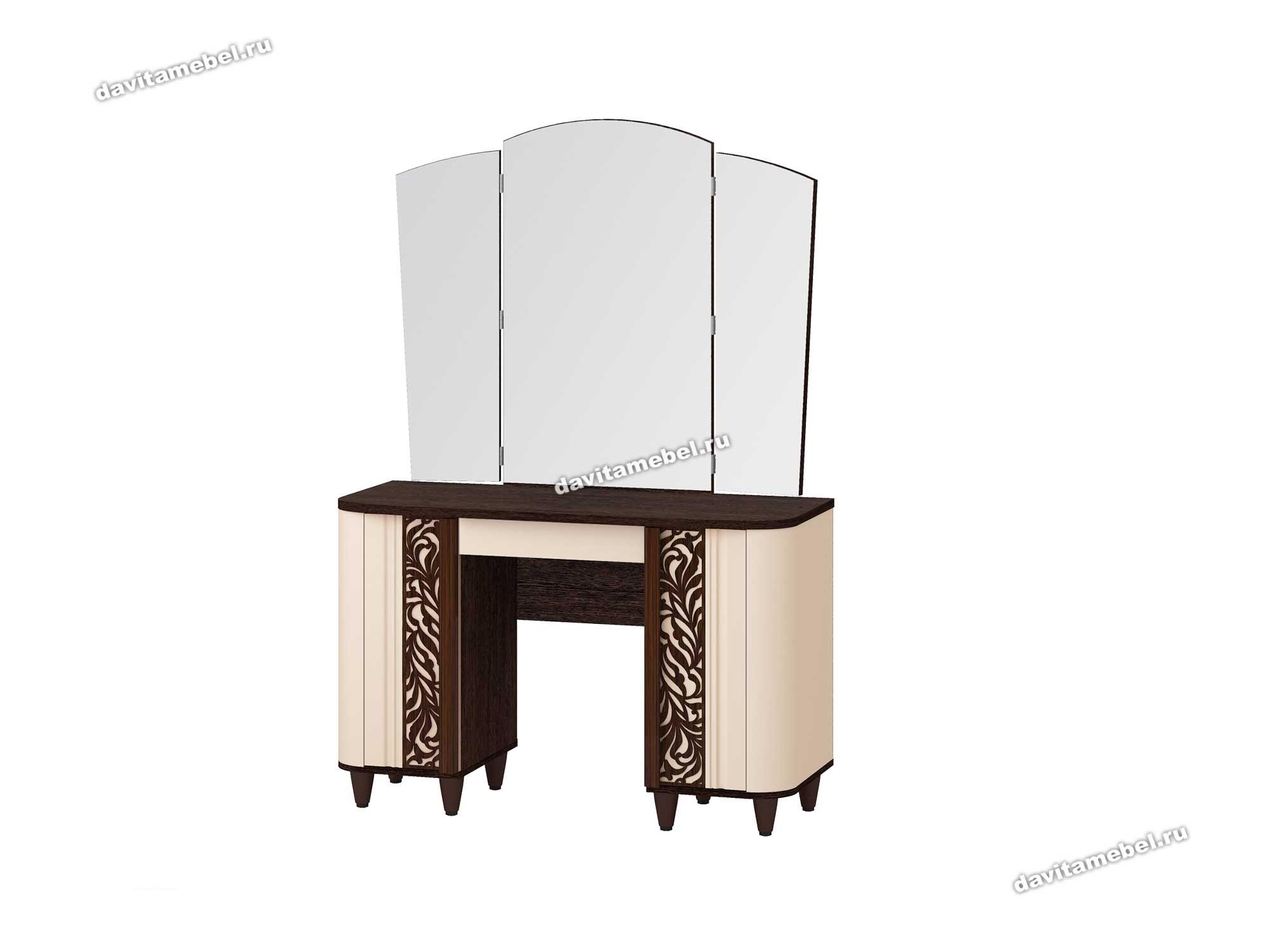 """Туалетный столик с зеркалом """"Катрин 92.06"""""""