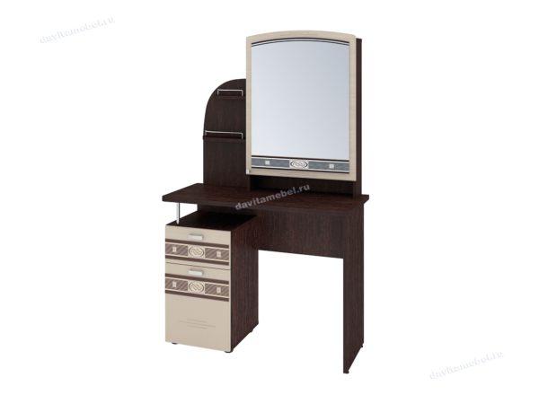 """Туалетный столик с зеркалом """"Орхидея 4.10"""""""