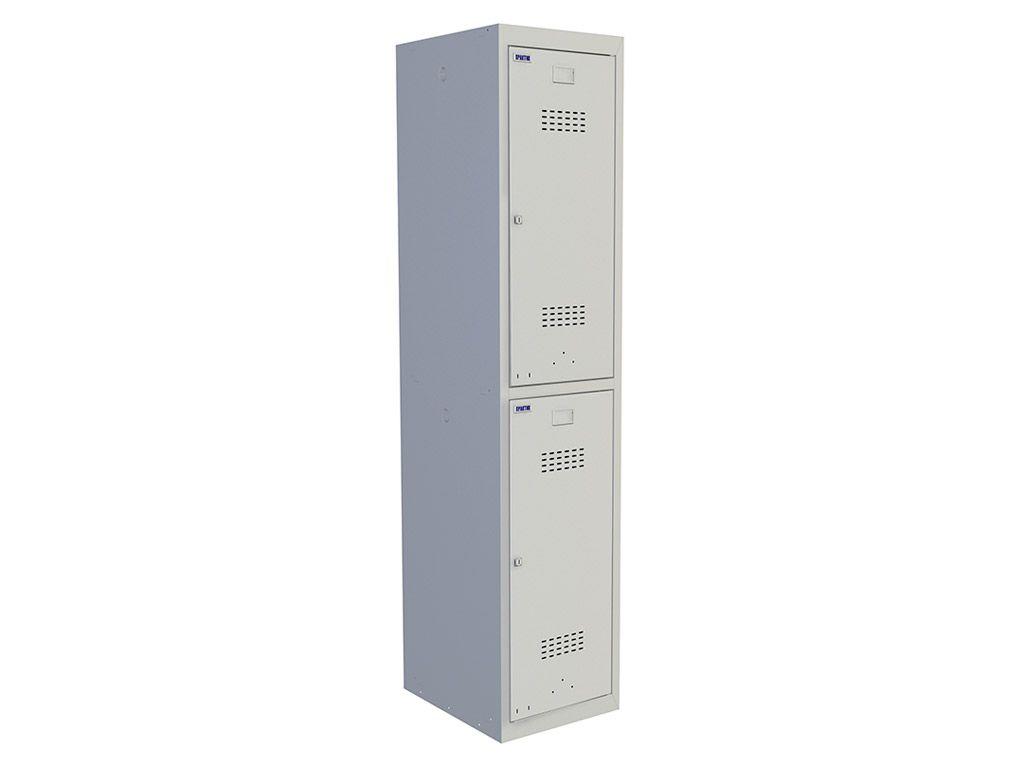 Шкаф для раздевалки ПРАКТИК УСИЛЕННЫЙ ML 12-40 (1830x400x500)