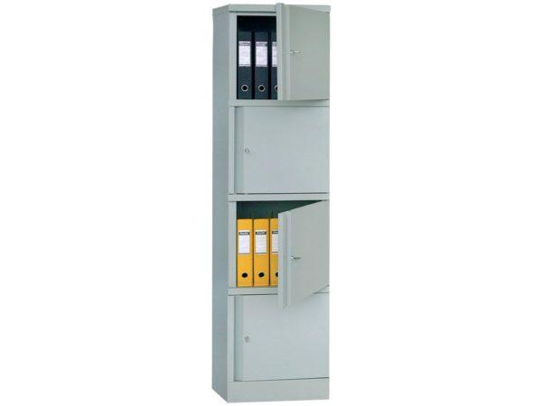 Шкаф для офиса ПРАКТИК AM 1845/4 (1830x472x458)