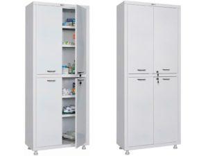 Медицинский шкаф HILFE МД 2 1670/SS (1655/1755x700x320)