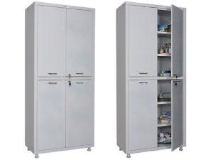 Медицинский шкаф HILFE МД 2 1780/SS (1750/1850x800x400)