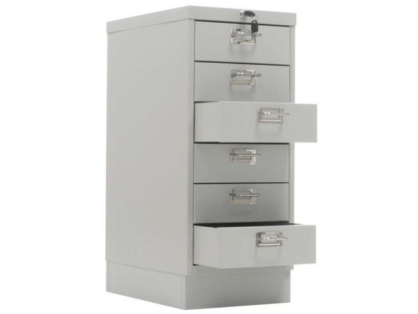 Многоящичный шкаф ПРАКТИК MDC-A4/650/6 (650x277x405)