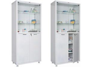 Медицинский шкаф HILFE МД 2 1780/SG (1750/1850x800x400)