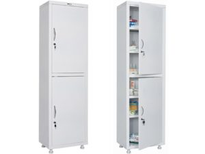 Медицинский шкаф HILFE МД 1 1657/SS (1655/1755x570x320)