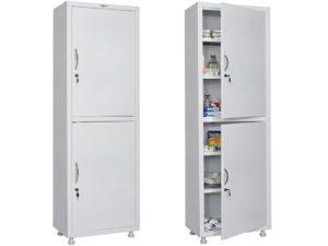 Медицинский шкаф HILFE МД 1 1760/SS (1750/1850x600x400)