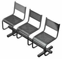 Металлические стулья