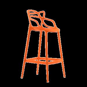 Барный стул Barneo N-235 Masters, оранжевый, design Phillip Stark