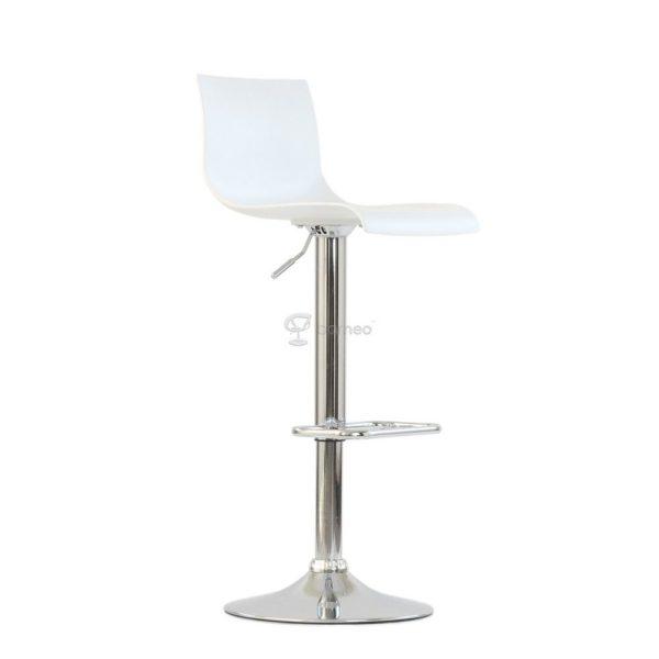 Барный стул Barneo N-262 Bras, белый