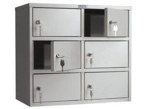 Индивидуальный шкаф кассира AMB-45/6 (545x600x330)