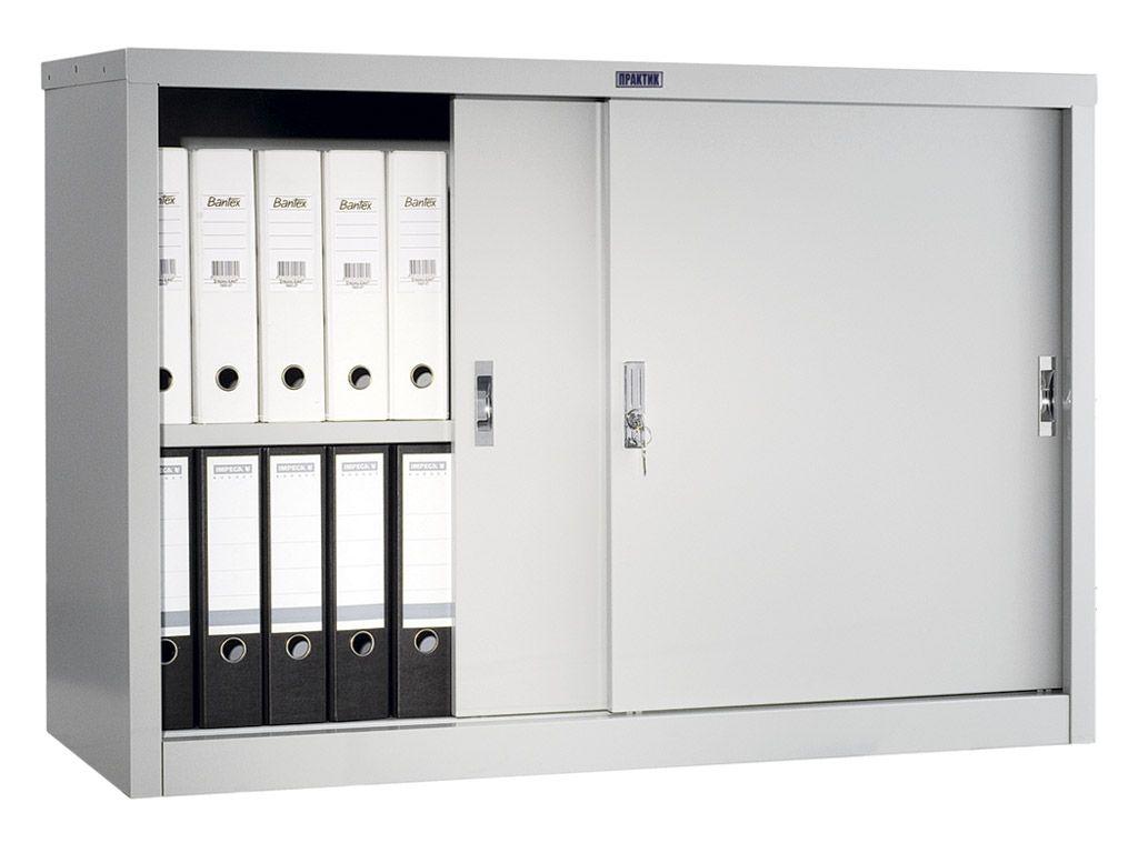 Шкаф для офиса ПРАКТИК АМТ 0812 (832x1215x458)