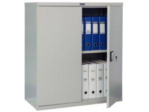 Шкаф для офиса ПРАКТИК СВ-11 (930x850x400)