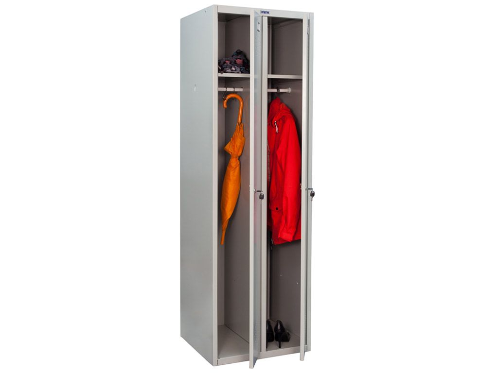 Шкаф для раздевалки ПРАКТИК СТАНДАРТ LS-21 (1830x575x500)