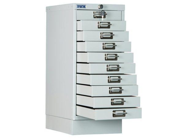 Многоящичный шкаф ПРАКТИК MDC-A4/650/10 (650x277x405)