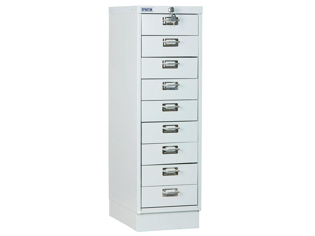 Многоящичный шкаф ПРАКТИК MDC-A3/910/9 (910x347x546)