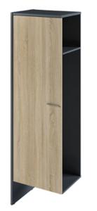 Доп.секция шкафа для одежды с дверью I-644 578х440х1940