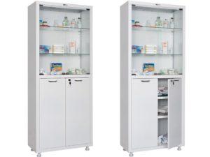 Медицинский шкаф HILFE МД 2 1670/SG (1655/1755x700x320)