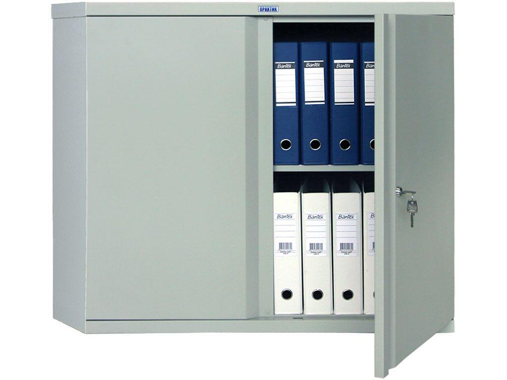 Шкаф для офиса ПРАКТИК М 08 (832x915x370)