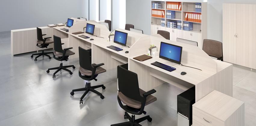 Стол рабочий МР-01 (900x600x750)