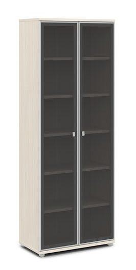 Шкаф со стеклом в алюминиевом профиле V-611 820x440x2195