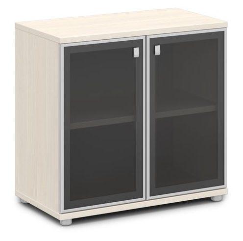 Шкаф со стеклом в алюминиевом профиле V-652 820x440x785