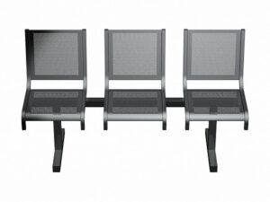 Секция из 3-х стульев СП1.103 (1489х520х865)