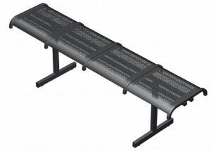 Секция перфорированная из стульев СП4.104 (1670х380х470)
