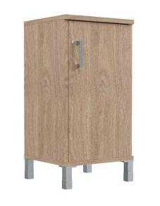 Шкаф низкий узкий с замком B411.3 (L/R) 475х450х920