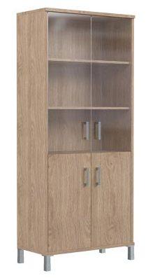 Шкаф высокий с тонированным стеклом B430.5 900х450х2054