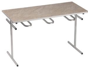 Стол обеденный со съемными подвесами (1500х700х750)