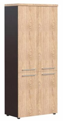 Шкаф с глухими средними и малыми дверьми AHC 85.3 850х430х1931