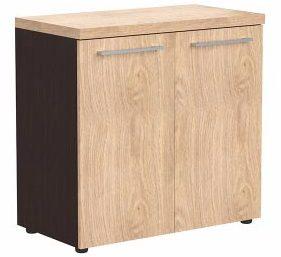 Шкаф с глухими малыми дверьми и топом ALC 85.1 850х430х796