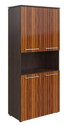 Шкаф с 2-мя комплектами глухих малых дверей MHC 85.4 854х423х1956