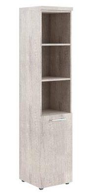 Шкаф колонка с глухой малой дверью и топом THC 42.5 426х430х1930