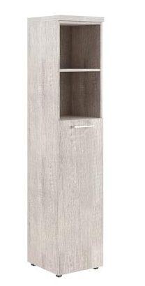 Шкаф колонка с глухой средней дверью и топом THC 42.6 426х430х1930