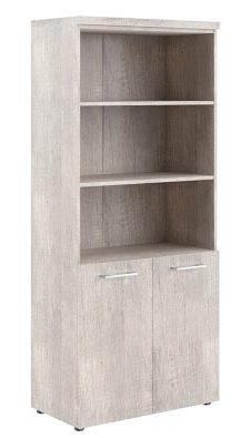 Шкаф с 1 комплектом глухих малых дверей и топом THC 85.5 850х430х1930