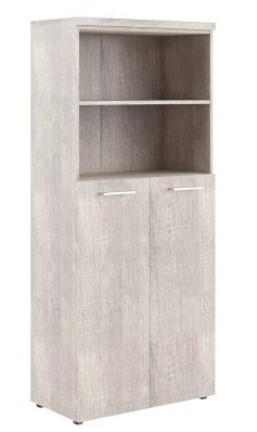 Шкаф с глухими средними дверьми и топом THC 85.6 850х430х1930