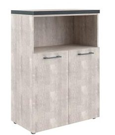 Шкаф с глухими малыми дверьми и топом TMC 85.3 850х430х1165