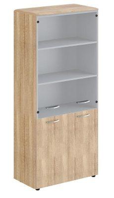 Шкаф с глухими средними и малыми дверьми DHC 85.3 850х430х1930