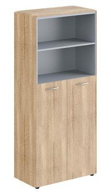 Шкаф с глухими средними дверьми DHC 85.6 850х430х1930