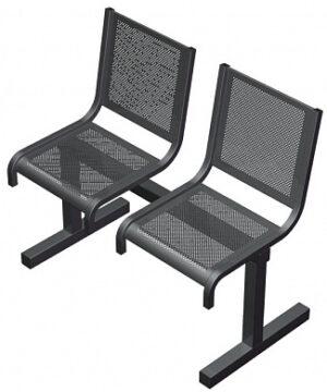 Секция из 2-х стульев СП1.102 (951х520х865)