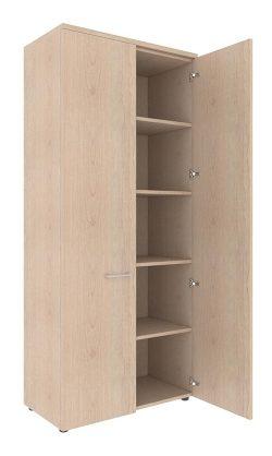 Шкаф с глухими дверьми и топом XHC 85.1 850х410х1930
