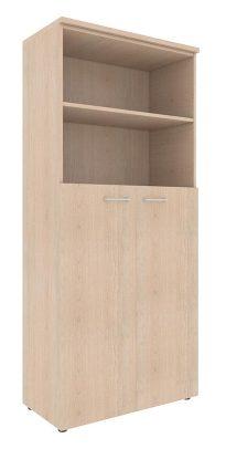 Шкаф с глухими средними дверьми и топом XHC 85.6 850х410х1930