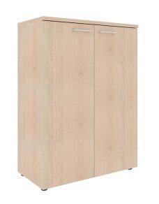 Шкаф с глухими средними дверьми и топом XMC 85.1 850х410х1165